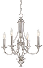 Minka-Lavery 3334-84 - 4 Light Chandelier