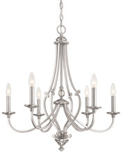 Minka-Lavery 3336-84 - 6 Light Chandelier