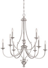 Minka-Lavery 3339-84 - 9 Light Chandelier