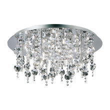 Eurofase Online 16481-015 - Galassia 18-Light Flushmount, Chrome Finish