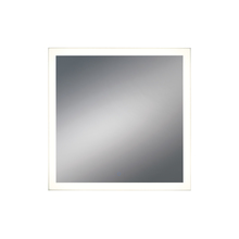 Eurofase Online 31482-015 - Square LED Mirror with Edge-Lit, Dimmable Touch Sensor, 32 Inches High by 32 Inches Wide - Model 314