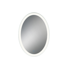 Eurofase Online 31483-012 - Oval LED Mirror with Edge-Lit, Dimmable Touch Sensor, 35 Inches High by 25 Inches Wide - Model 31483