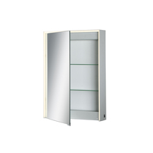 Eurofase Online 31484-015 - Edge-Lit LED Mirror Cabinet, Single Door, 28 Inches High by 20 Inches Wide - Model 31484-015