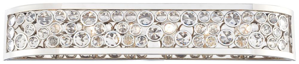 Polished nickel clear crystal accents glass vanity n2756 613 polished nickel clear crystal accents glass vanity aloadofball Choice Image