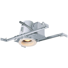 "Canarm RN4NC2SBWH - Recessed, RN4NC2SB WH, 4"" Non-Insulated with Step Baffle Trim (T4SB02WH), New Constrution, 1 x 5"