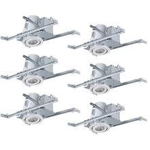 "Canarm RN4NC2TGWH-6 - Recessed, RN4NC2TG WH-6, 4"" Non-Insulated with Tilting Gimbal Trim (T4TGO2WH), 6-Pack Box, New C"