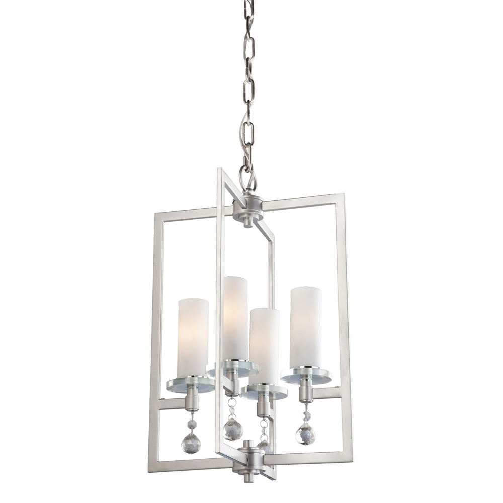 Melbourne 4 light brushed nickel chandelier ac10274 park lighting melbourne 4 light brushed nickel chandelier arubaitofo Images