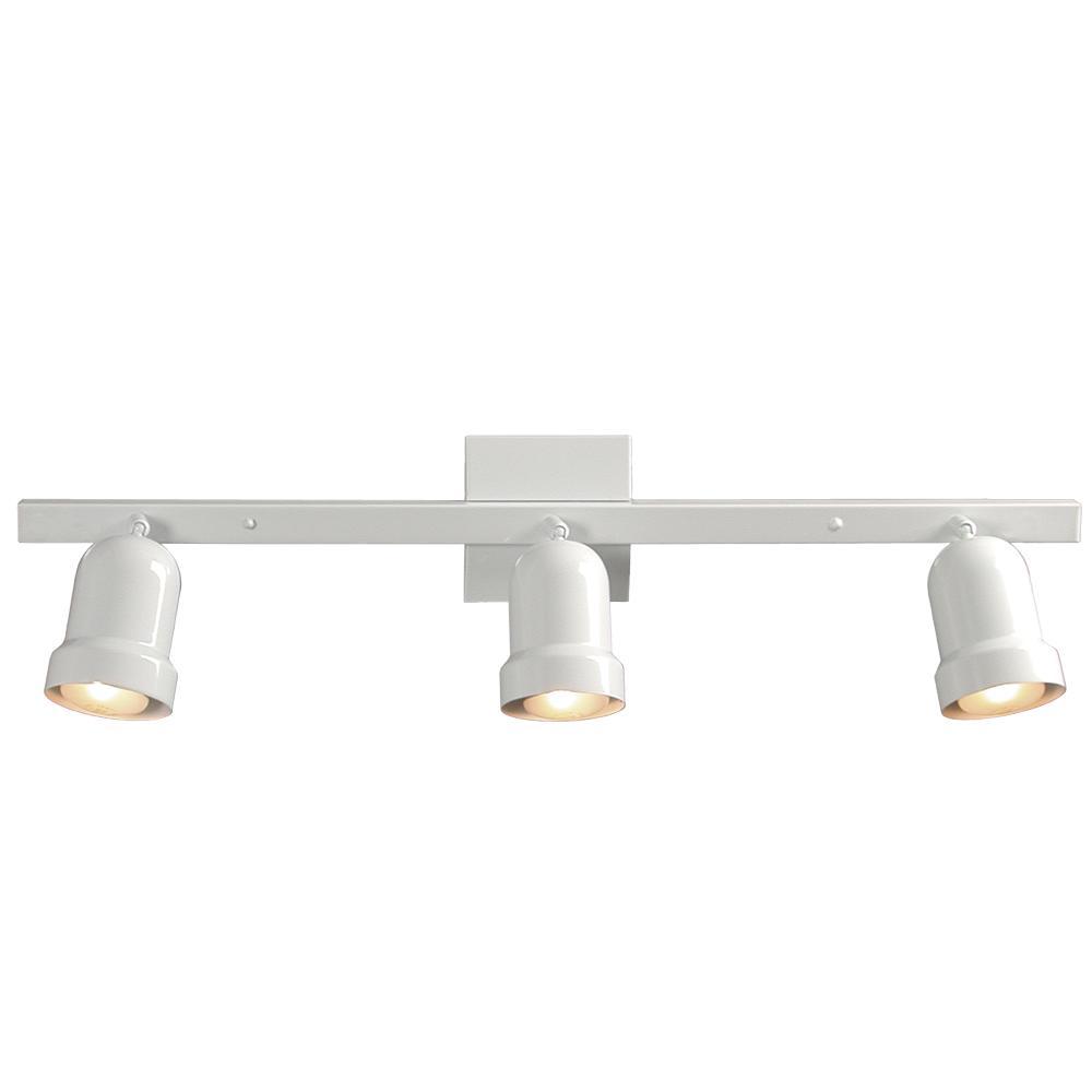 Three Light Track Light - White  sc 1 st  Park Lighting & Three Light Track Light - White : 766303WH | Park Lighting