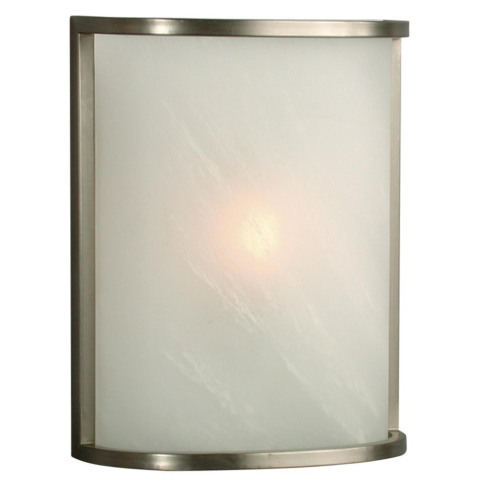 Wall Sconce Pewter W Marbled Glass 790800ptr Park Lighting