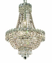 Elegant 1900D16C/RC - 1900 Century Collection Hanging Fixture D16in H22in Lt:8 Chrome Finish (Royal Cut Crystal)