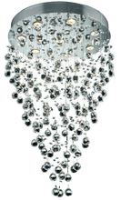Elegant 2006D24C/RC - 2006 Galaxy Collection Hanging Fixture D24in H36in  Lt:9 Chrome Finish (Royal Cut Crystal)