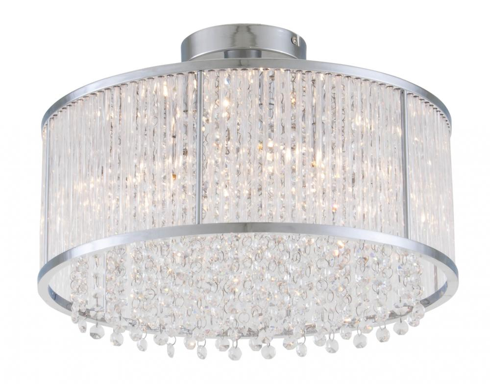 12 semi flush mount