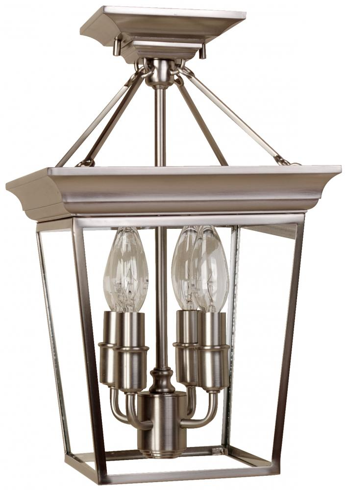 rubbed shades collection depot lights glass with flushmount semi flush light decorators mount oil bronze p etched in clear cage home the