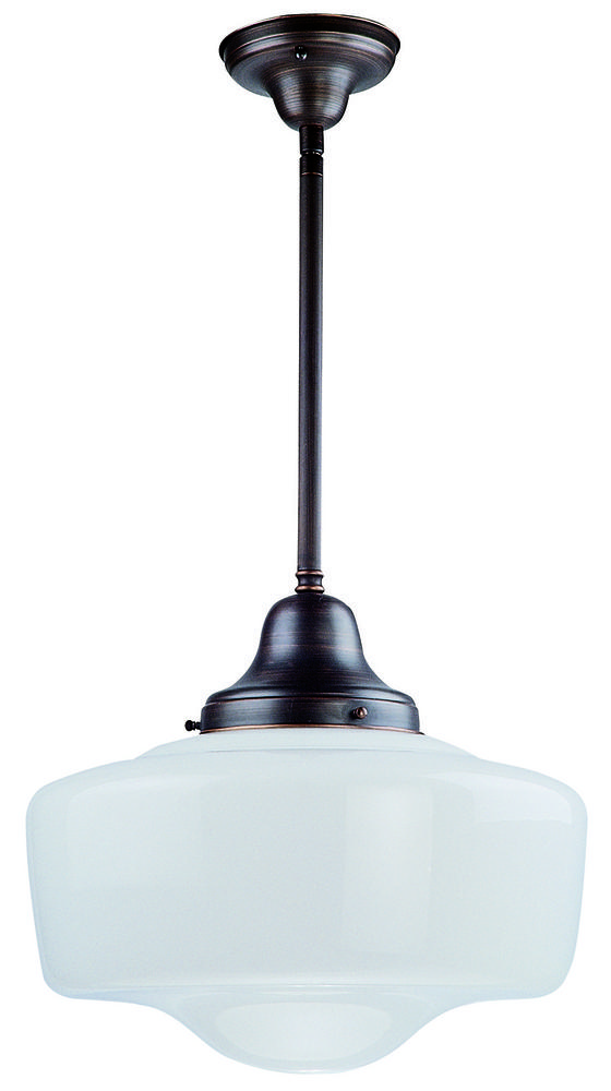 One Light Semi Flush/pendant
