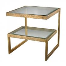 Dimond 114-144 - Key Side Table In Gold Leaf