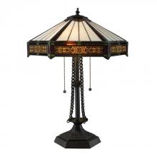 Dimond D1852 - Filigree 2 Light Table Lamp In Tiffany Bronze