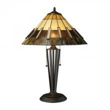 Dimond D1860 - Porterdale 2 Light Table Lamp In Tiffany Bronze