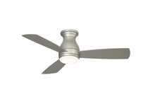 Fanimation FPS8332BNW - Hugh - 44 inch - Brushed Nickel with Brushed Nickel Blades and LED Light Kit - Wet Rated