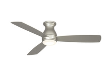 Fanimation FPS8355BNW - Hugh - 52 inch - Brushed Nickel with Brushed Nickel Blades and LED Light Kit - Wet Rated