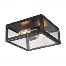 ELK Lighting 63021-2 - Parameters 2 Light Flushmount In Oiled Bronze