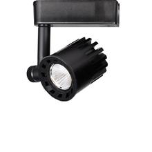 Black WAC Lighting R3ASDT-N830-BKWT Aether Square Trim with LED Light Engine Narrow 25 Beam 3000K Soft White